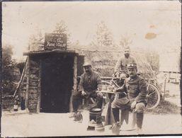 Photo Originale Guerre WW1  Vosges Ban De Sapt La Fontenelle Ancienne Casemate  Cagna Voir Descriptif Ref 941 - Guerre, Militaire