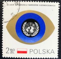 Polska - Poland - P1/22 - (°)used - 1970 - 25 Jaar Verenigde Naties - Michel Nr. 2028 - ONU
