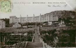MONTE CARLO HOTEL RIVIERA PALACE CARTE GLACEE - Monte-Carlo