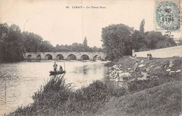 20-9568 : PECHEURS A LA LIGNE A LIMAY - Limay