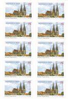 Alemania Nº 2671 En Hoja De 10 Sellos - Markenheftchen