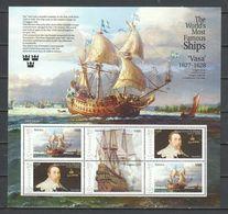 Grenada - MNH Sheet - MS VASA - Barche