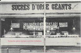 SUCRE D'ORGE GEANTS - CONFISERIE De GEANTS - Maison L. JACOB - 25 Rue Du RENDEZ-VOUS - PARIS - Mercanti