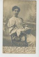 PAYS BAS - BREDA - GINNEKEN - Belle Carte Photo Portrait De Femme écrite En 1905 - Breda