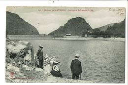 CPA- Carte Postale -France- Rochetaillée- Le Barrage -1908-VM19508 - Rochetaillee