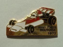PIN'S JEAN PIERRE BELTOISE - VAINQUEUR DU GRAND PRIX DE MONACO EN 1972 - F1