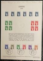 France - Document Philatélique - Premier Jour - FDC - Marianne - 1979 - 1970-1979