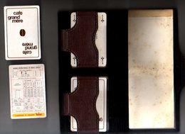 Jeu De 54 Cartes X 2 GRAND MERE Café Complet Avec Pochette - 54 Cartes