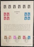 France - Document Philatélique - Premier Jour - FDC - Marianne - 1981 - 1980-1989