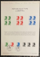 France - Document Philatélique - Premier Jour - FDC - Marianne - 1982 - 1980-1989