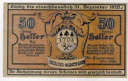Österreich Austria Notgeld 50 HELLER FS12I AIGEN /133M/ - Austria