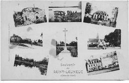 22 CPA SAINT LAUNEUC 8 VUES - France