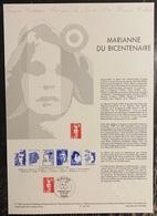 France - Document Philatélique - Premier Jour - FDC - Marianne - 1989 - 1980-1989