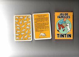 Jeu Des Familles TINTIN Complet - Jeux De Société
