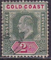 GOLD COAST 1902 SG #45 2sh Used CV £38 Wmk Crown CA - Costa D'Oro (...-1957)