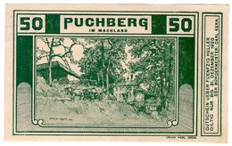 Österreich Austria Notgeld 50 HELLER FS787 PUCHBERG /148M/ - Austria