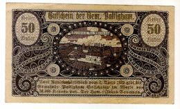 Österreich Austria Notgeld 50 HELLER FS723 PATTINGHAM /148M/ - Austria