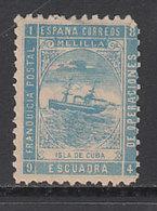 Espa�a Franquicias Militares 1894 Edifil 7 (*) Mng - Franchise Militaire