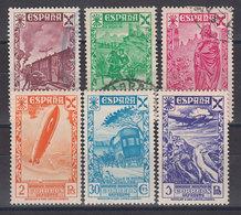 Espa�a Beneficencia 1938 Edifil 21/26 O - Wohlfahrtsmarken