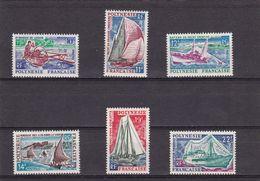 Polinesia Nº 36 Al 41 - Unused Stamps