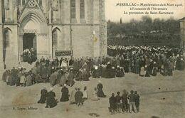 Missillac * Manifestation 6 Mars 1906 * Inventaire * Procession St Sacrement * Grève Grèves Grévistes - Missillac