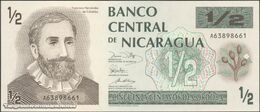 TWN - NICARAGUA 171 - ½ Cordoba 1991 Prefix A UNC - Nicaragua