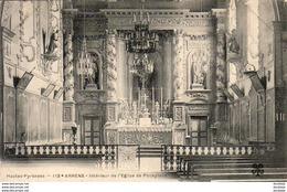 D65  ARRENS  Intérieur De L' Eglise De Poueylaün   ..... - Autres Communes