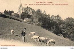D65  LABASSERE  Eglise Et Calvaire De Labassère  ..... - Autres Communes