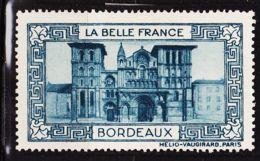 VIGN38 BORDEAUX Vignette De Collection LA BELLE FRANCE 1925s Helio VAUGIRARD PARIS Erinnophilie - Commemorative Labels