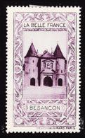 VIGN92 BESANCON Vignette De Collection LA BELLE FRANCE 1925s Helio VAUGIRARD PARIS Erinnophilie - Erinnofilia