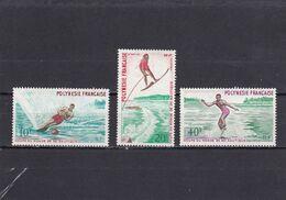 Polinesia Nº 86 Al 88 - Unused Stamps