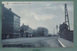 HERENTHALS-place De La Gare - Edit SBP N 9 - ( Minuscule Trou De Pun Bord Au Milieu) - 2 Scans - Herentals