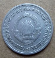 1965 JUGOGLAVIA Stemmi 1 Dinar - Circolata - Yugoslavia