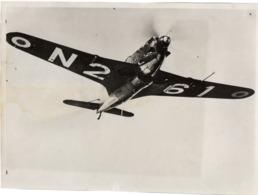 2 Photographies Originales Avion MS 406 WWII 1939 - 1945 - 1939-45