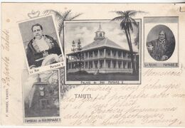 Tahiti, Roi Et Reine Pomaré -1905 - Tahiti