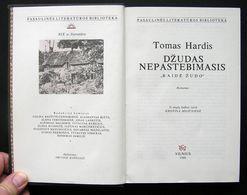 Lithuanian Book / Džudas Nepastebimasis Thomas Hardy Jude The Obscure 1988 - Libros, Revistas, Cómics