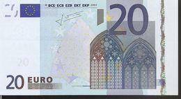 20 Euros Fauté S. J016  ITALIE - 20 Euro