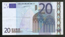 20 Euros France  U L001 B1 - 20 Euro