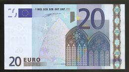 Billet Euro 20 FRANCE L004 C2   RARE - 20 Euro