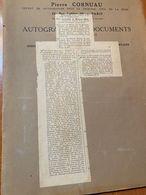 Grande Armée - INCENDIE DE MOSCOU 1812   ( VOIRE SCAN- Des Differents Documents ) - Historical Documents