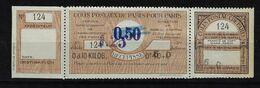 COLIS POSTAUX DE PARIS POUR PARIS - 106 NEUF ** - Cote 60€ - Parcel Post