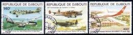 304 Djibouti Avions Airplanes (DJI-18) - Vliegtuigen