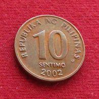 Philippines 10 Sentimo 2002 KM# 270.1  Filipinas Pilipinas Fillippijnen Filippine - Philippines