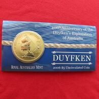 Australia 5 $ 2006  Sail Ship Duyfken Australie - Australie