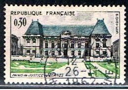 4FRANCE 335 // YVERT 1351 // 1962 - Gebruikt