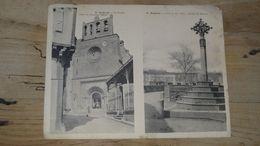 Carte Double : BELPECH : Le Clocher Et La Croix   .... …... … OR-58 - Altri Comuni