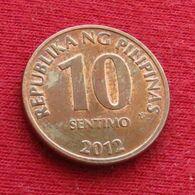 Philippines 10 Sentimo 2012 KM# 270.2  Filipinas Pilipinas Fillippijnen Filippine - Philippines