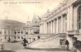 Spa - Le Kursaal - La Terrasse De La Salle Des Fêtes (1910, Califice) - Spa