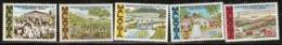Malaysia  1966 SG  37-41  Malaysia Plan  Unmounted Mint - Malaysia (1964-...)