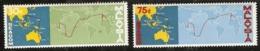 Malaysia  1967 SG  42-3  SEACOM   Unmounted Mint - Malaysia (1964-...)